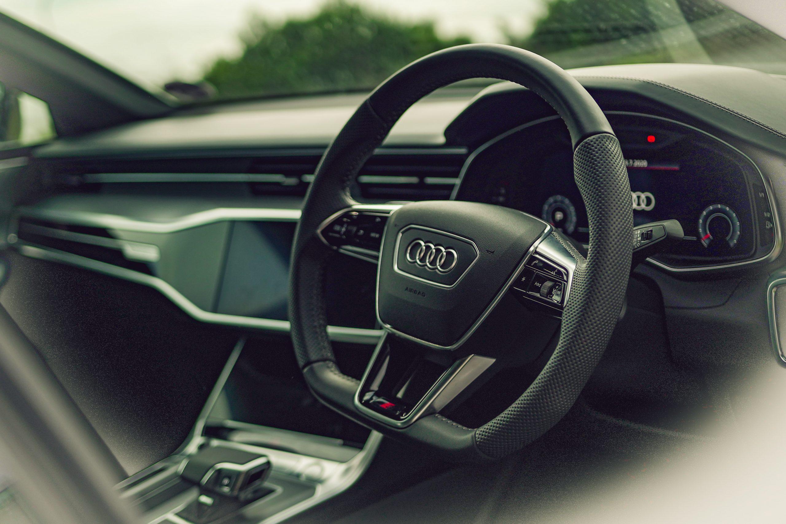 Audi A7 55 TFSI cabin