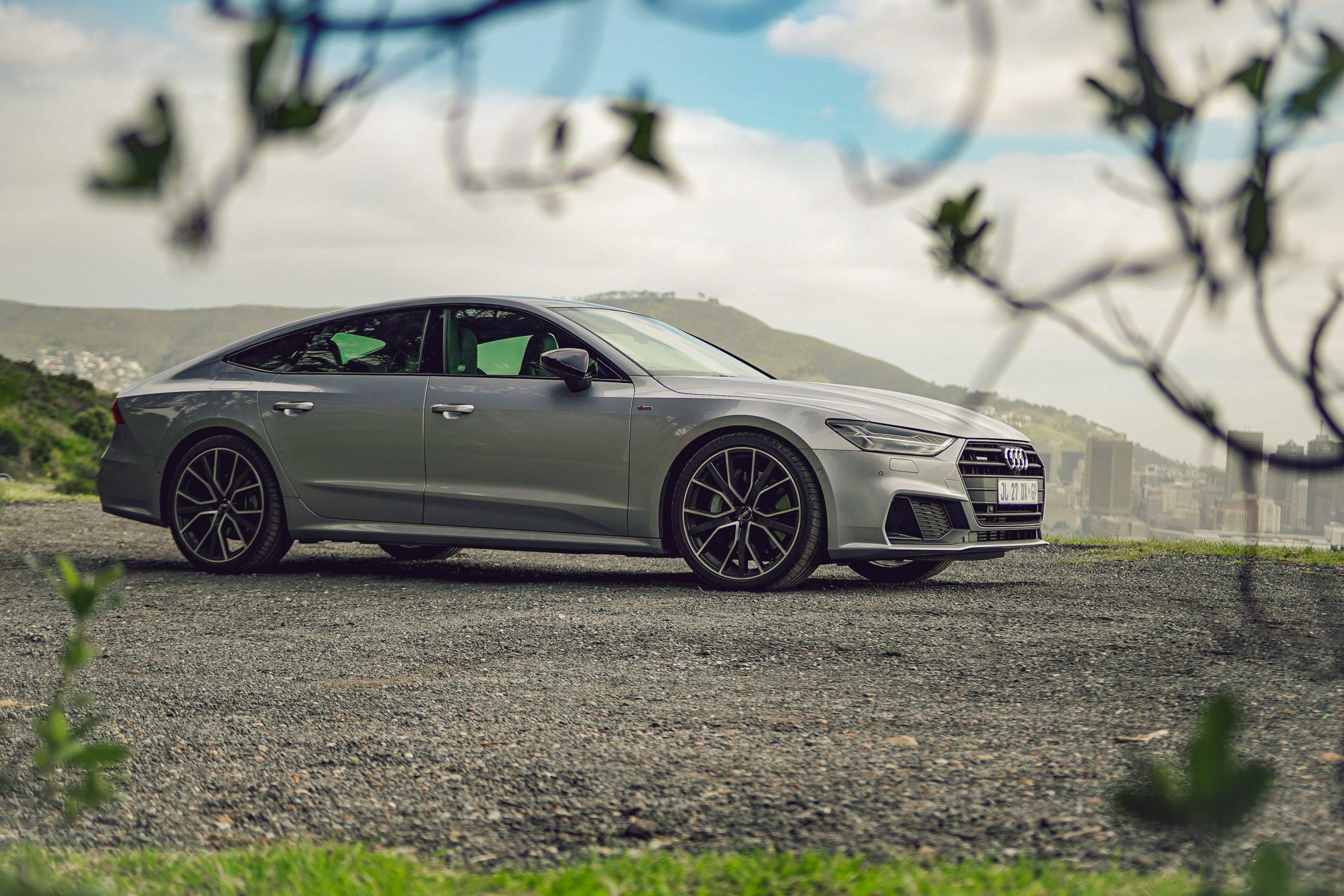 Audi A7 55 TFSI rear